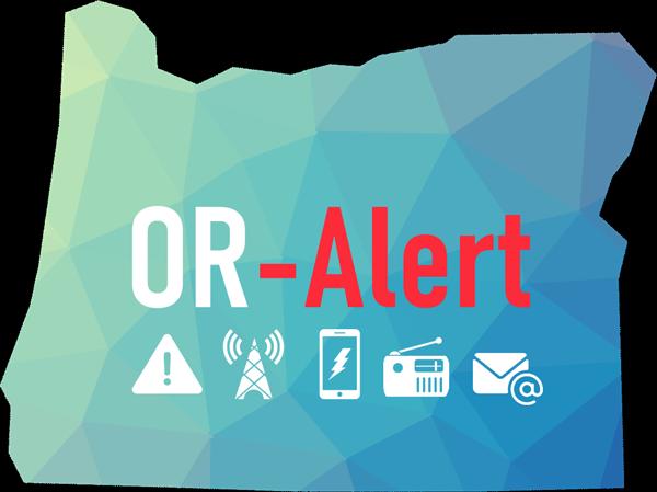 OR-Alert logo